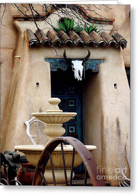 Southwestern Doorway Greeting Card