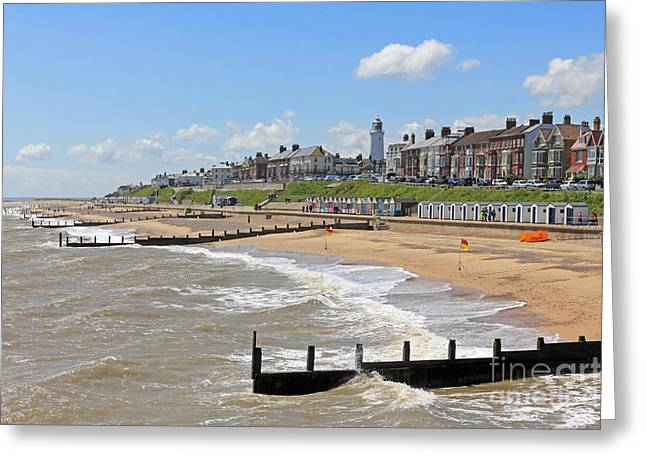 Southwold Beach 2 Greeting Card