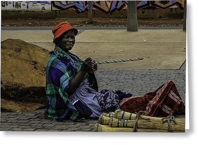 Soweto Artist Greeting Card