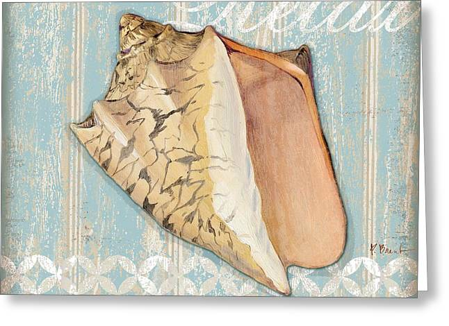 Spa Shells II Greeting Card by Paul Brent
