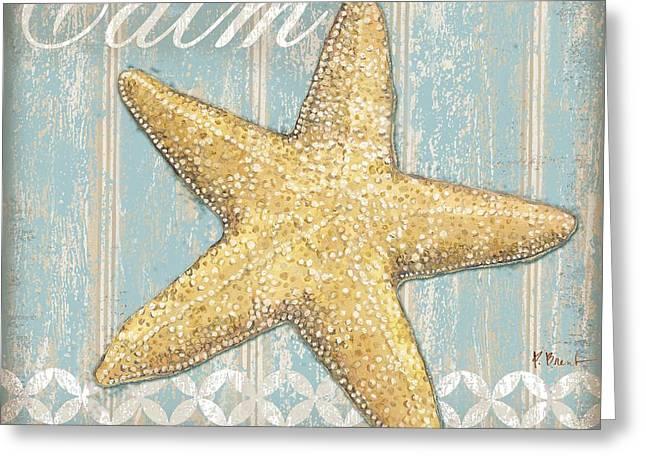 Spa Shells Iv Greeting Card