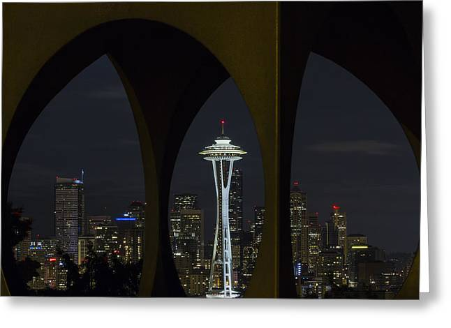 Space Needle Greeting Card