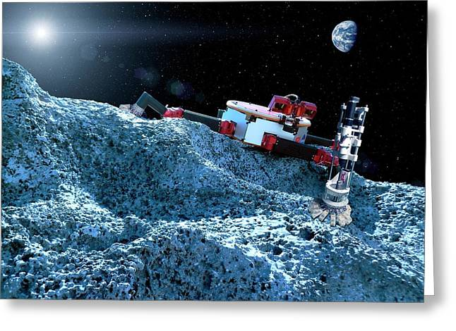 Space Rover With Microspine Grippers Greeting Card by Nasa/jpl-caltech