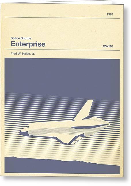 Space Shuttle Enterprise Greeting Card