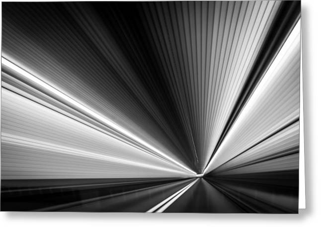 Greeting Card featuring the photograph Space-time Continuum by Mihai Andritoiu