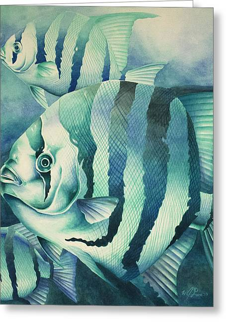Spadefish Greeting Card
