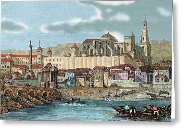Spain, Andalusia, Cordoba Greeting Card by Prisma Archivo