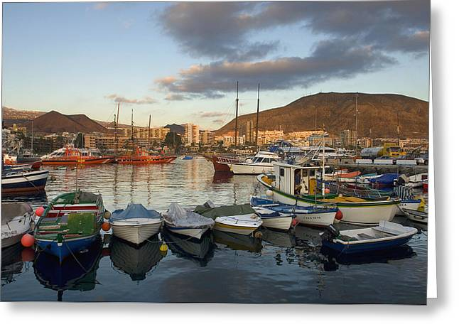 Spain, Canary Islands, Tenerife, Los Greeting Card by Chris Parker