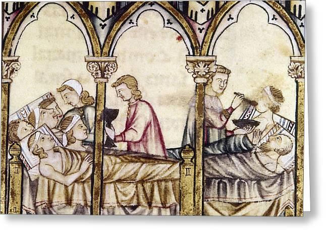 Spain: Medieval Hospital Greeting Card by Granger