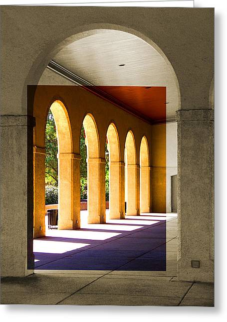 Spanish Arches Greeting Card