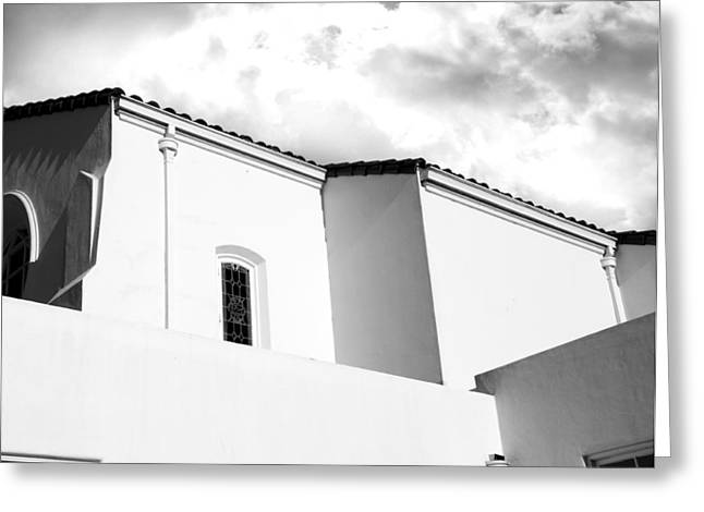 Spanish Chapel Greeting Card by Larry Butterworth
