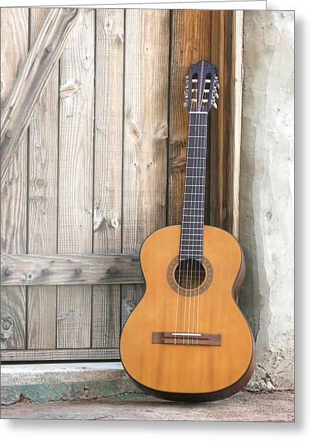 Spanish Guitar Greeting Card