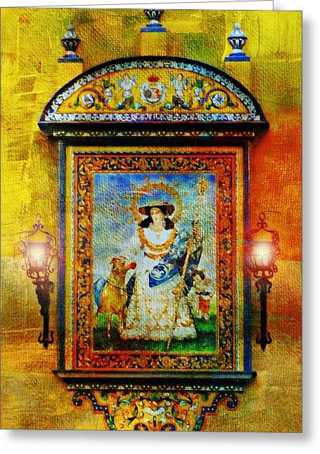 Spanish Mural Greeting Card