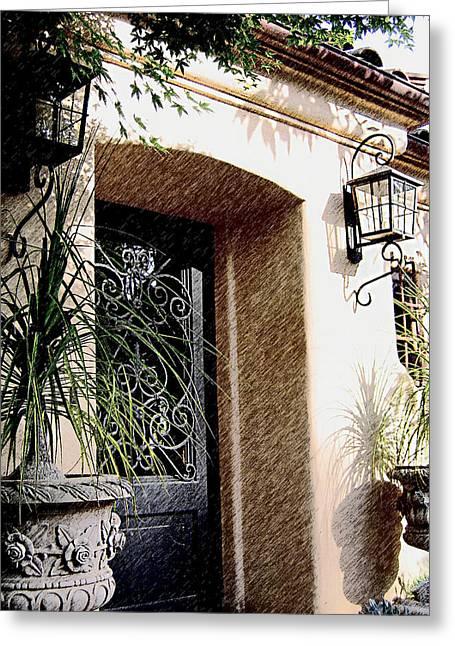 Spanish Sunrise Greeting Card by Jeff Doubet