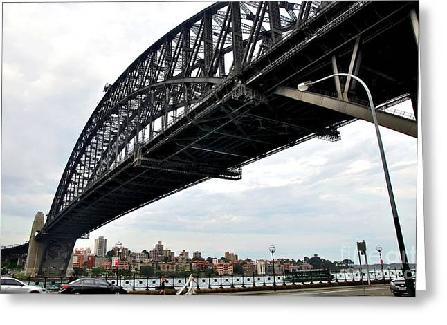 Spanning Sydney Harbour Greeting Card