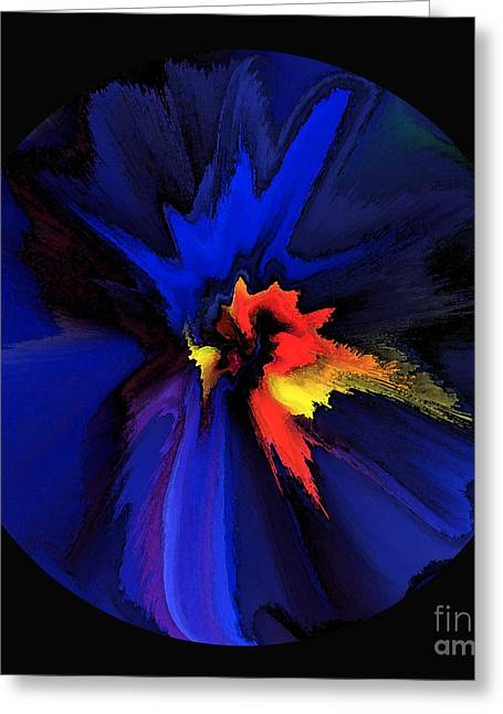 Spark Of Transformation Greeting Card by Patricia Kay