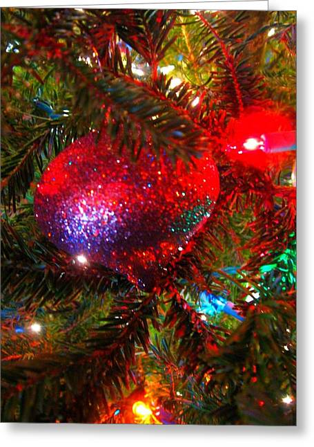 Greeting Card featuring the photograph Sparkle And Shine by Deb Martin-Webster