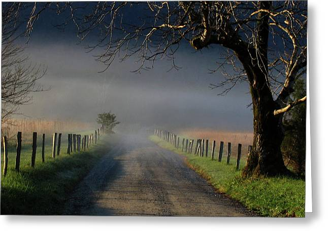 Sparks Lane Sunrise II Greeting Card