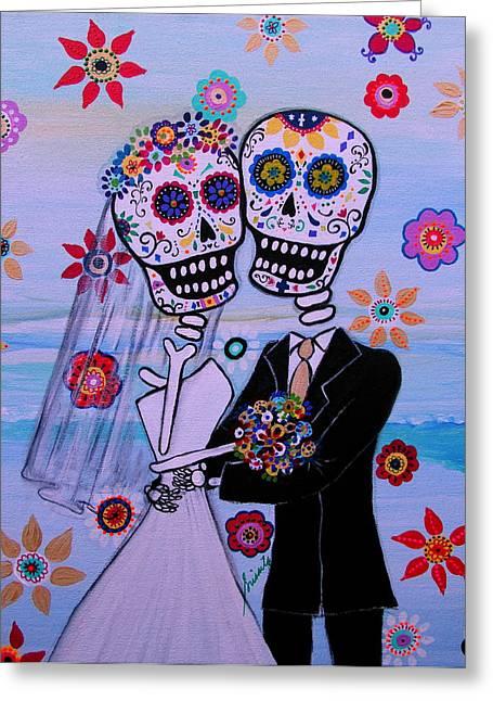 Special Day Dia De Los Muertos Wedding Greeting Card