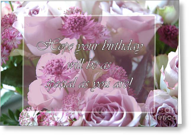 Special Greeting Card by Randi Grace Nilsberg