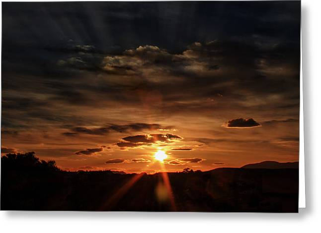 Spectacle In The Sky Greeting Card