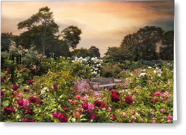 Spectacle Of Roses  Greeting Card