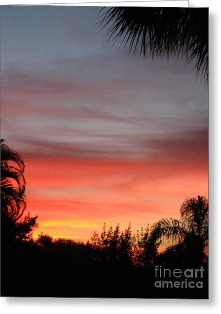 Spectacular Sky View Greeting Card