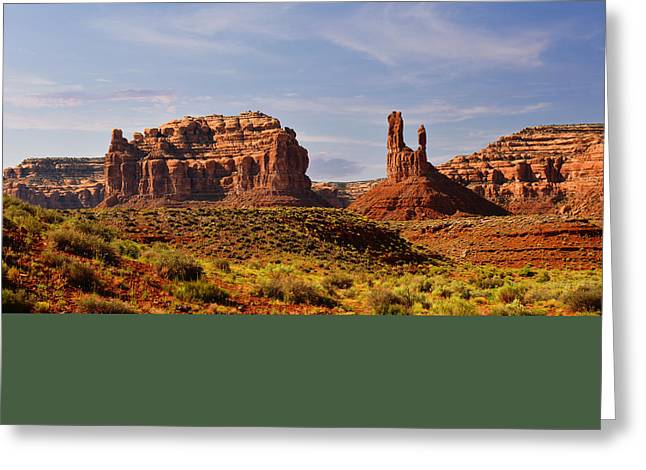 Spectacular Valley Of The Gods Greeting Card by Christine Till