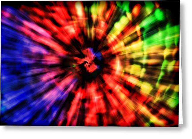 Spectrum Vortex Greeting Card by EXparte SE