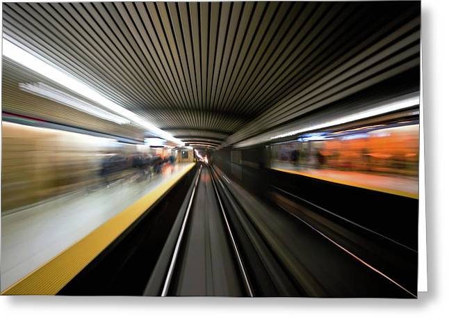 Greeting Card featuring the photograph Speed by Brian Carson