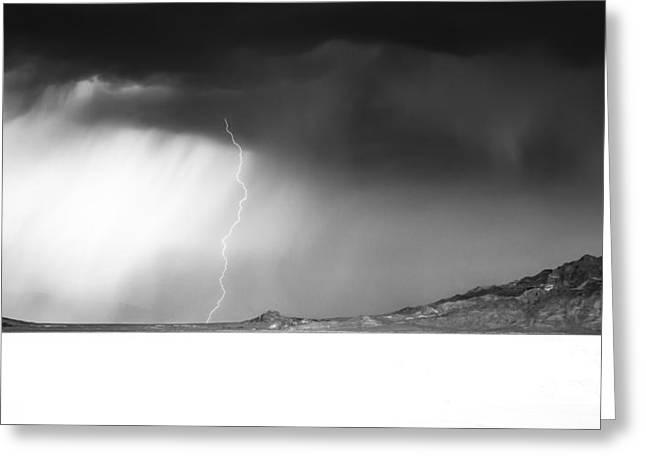 Speed Of Light- Bonneville Salt Flats Greeting Card