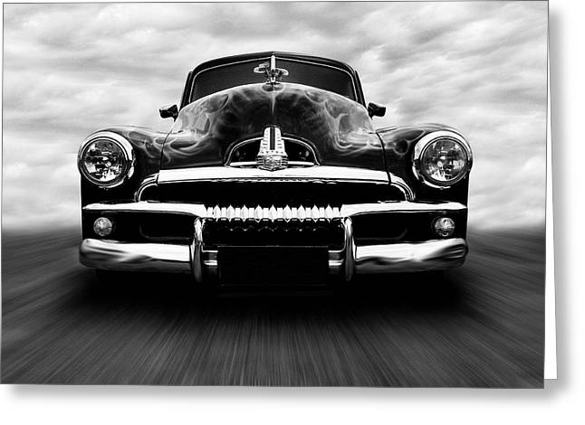 Speeding Fj Holden Greeting Card