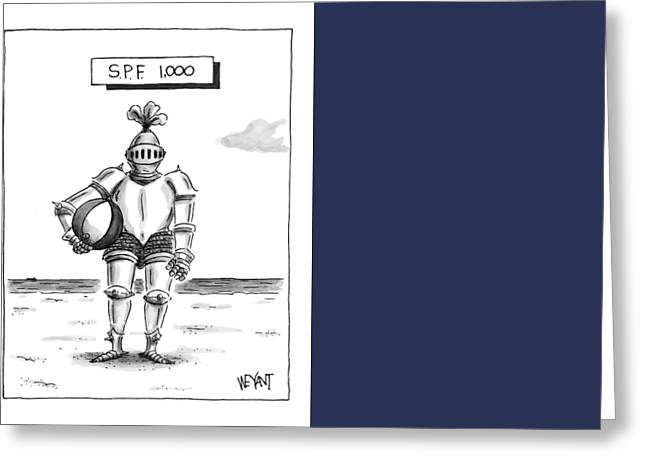 's.p.f. 1,000' Greeting Card by Christopher Weyant