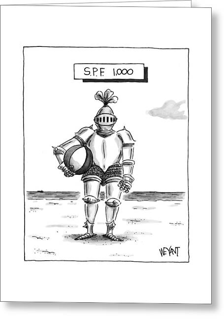 's.p.f. 1,000' Greeting Card