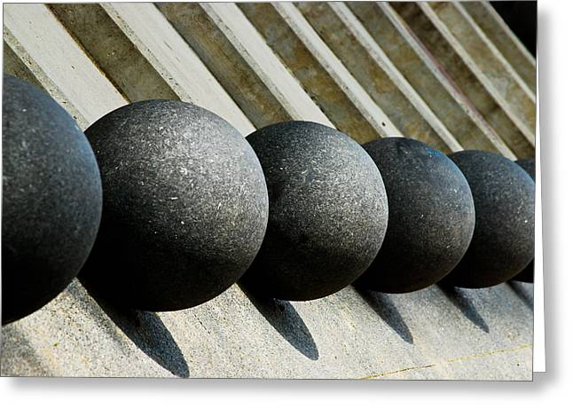 Spheres And Steps Greeting Card
