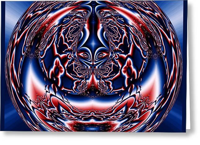 Spherical Art No 5 Greeting Card