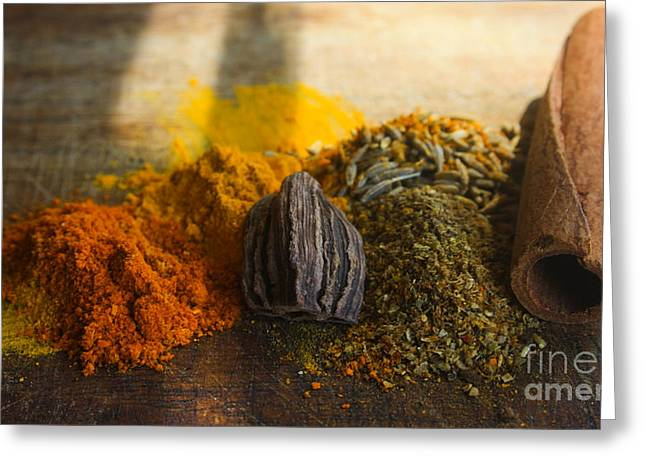 Spice Greeting Card by Jan Wolf