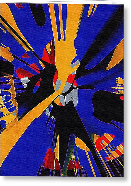 Spinart Revival II Greeting Card
