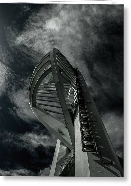 Spinnaker Tower Portsmouth Uk Greeting Card by Martin Newman