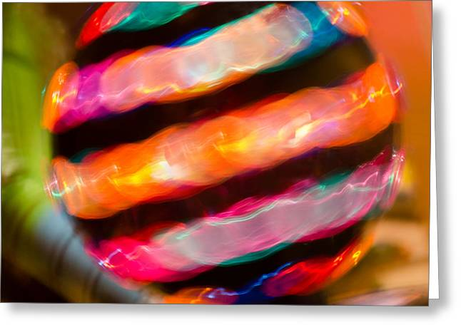 Spinner Greeting Card by Robert Hainer