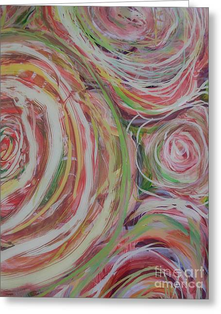 Spiral Bouquet Greeting Card
