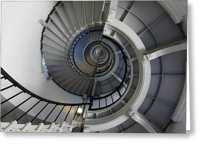 Greeting Card featuring the photograph Spiral by Laurie Perry