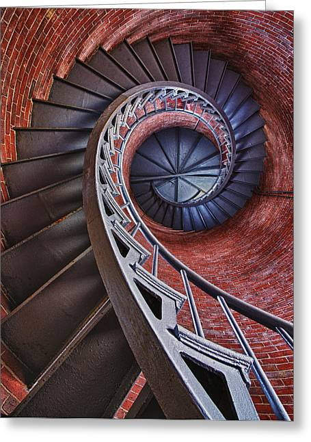 Spiraling Greeting Card