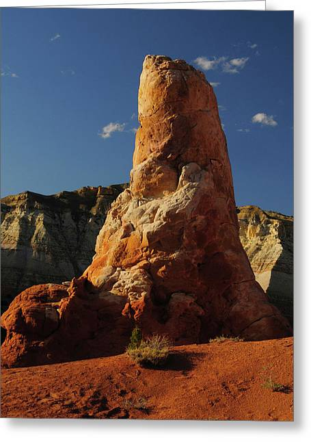 Spire, Kodachrome Basin State Park Greeting Card