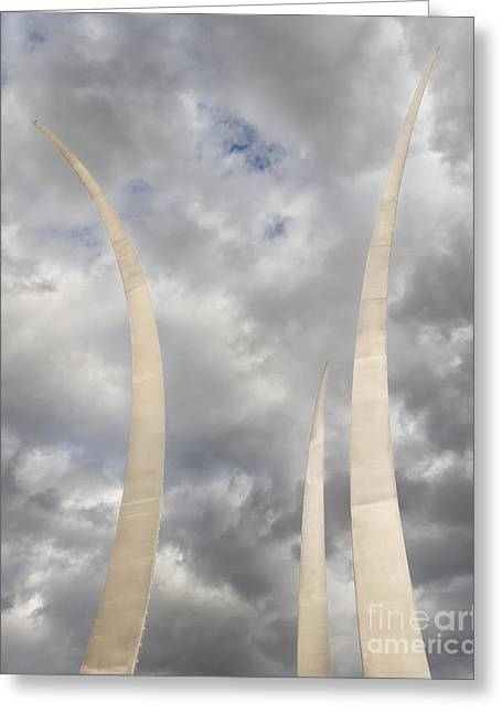 Spires Upward-2 Greeting Card