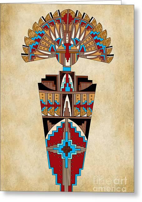 Spirit Chief Greeting Card