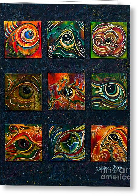 Spirit Eye Collection I Greeting Card