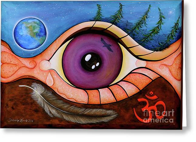 Spirit Eye Greeting Card
