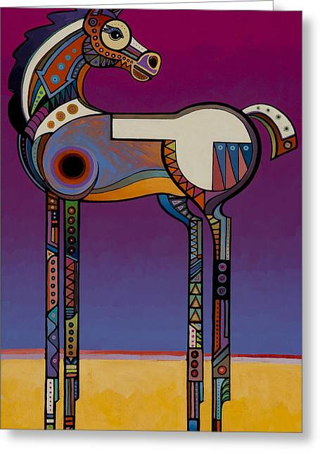 Spirit Horse Greeting Card