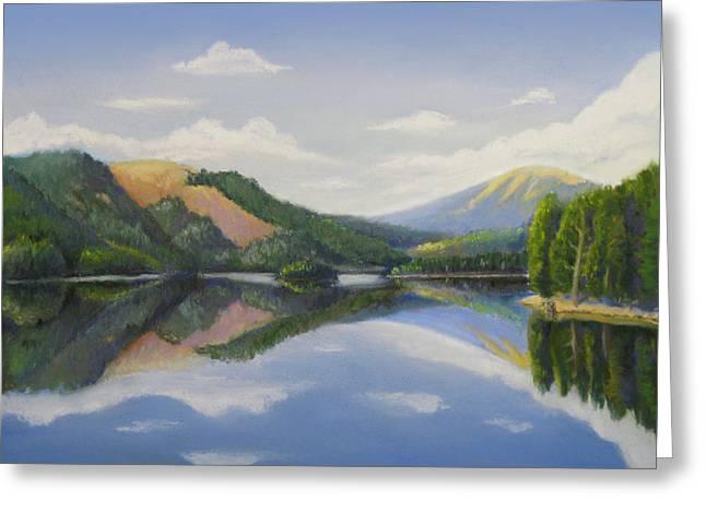 Spirit Lake-off The Deck Greeting Card